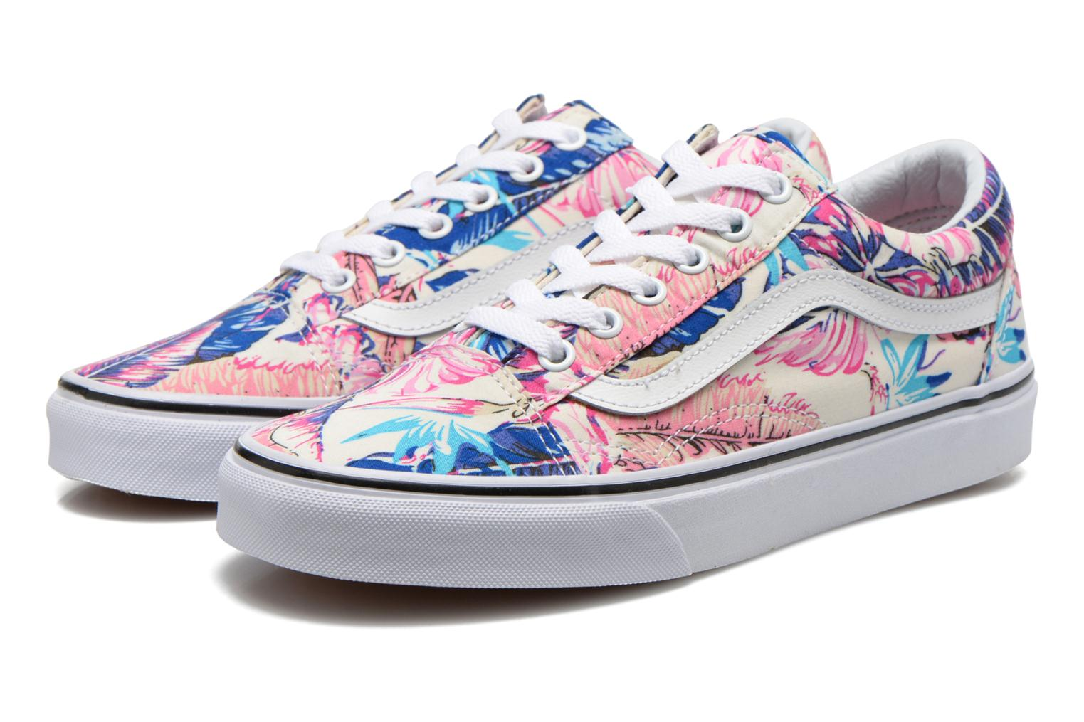 Deportivas Vans Old Skool W Multicolor vista 3/4